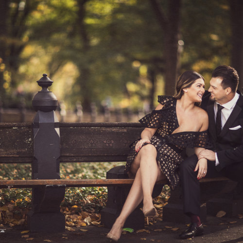 new york city engagement pictures