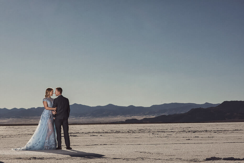 salt flat wedding portraits 2