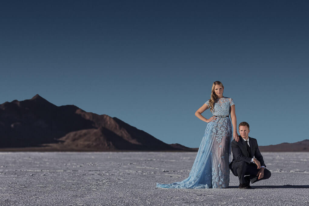 salt flat wedding portraits 3