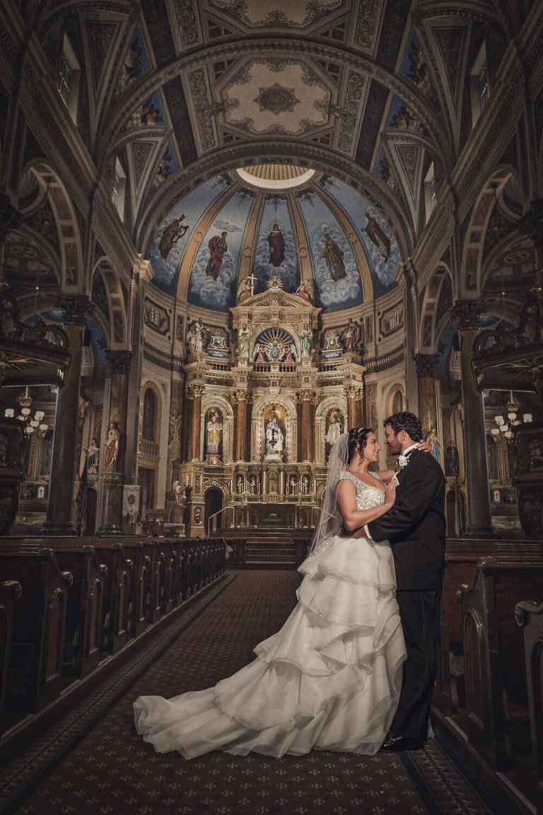 Shrine of St Joseph Wedding Photography