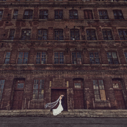 Wedding photography in downtown St. Louis